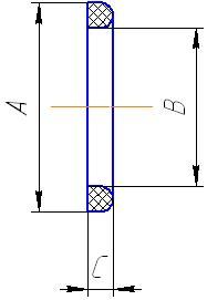 Прокладка для муфты DIN